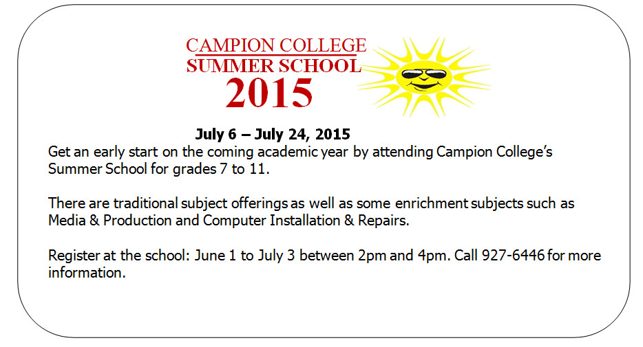 Summer School 2015